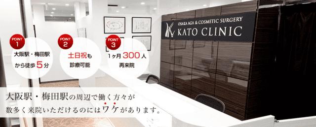AG大阪 フィナステリド 大阪AGA加藤クリニック
